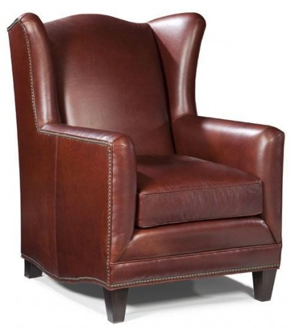 Atwood Gunner Coffee Leather Chair