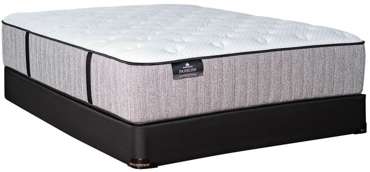 Passions Aspiration Plush Cal. King Mattress With Low Profile Foundation