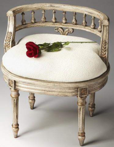 Artists' Originals Guilded Cream Vanity Seat