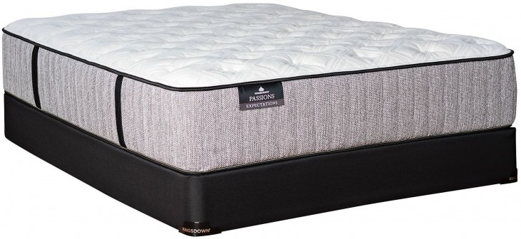 Passions Expectations Plush Full Mattress With Low Profile Foundation