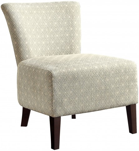 Cotati Square Pattern Accent Chair