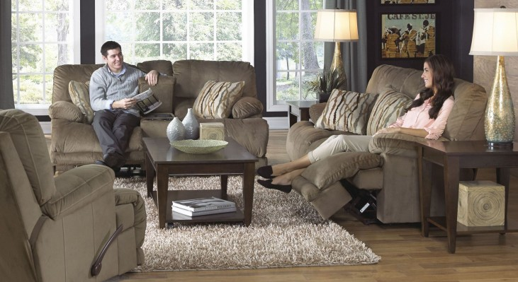 Riley Musk Power Reclining Living Room Set
