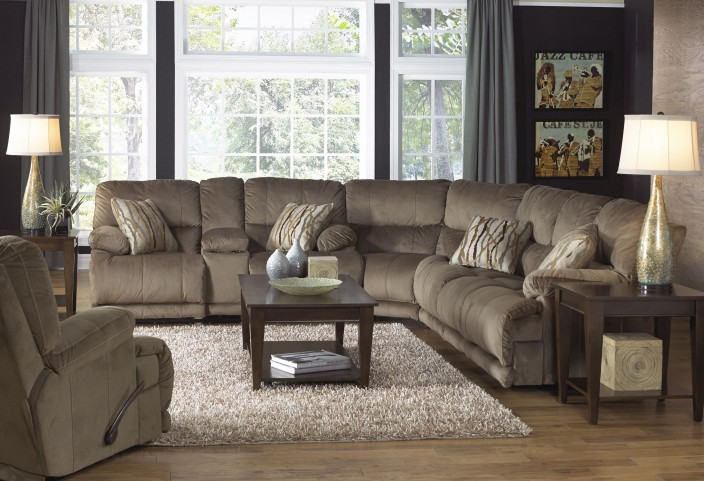 Riley Musk Power Reclining Sectional