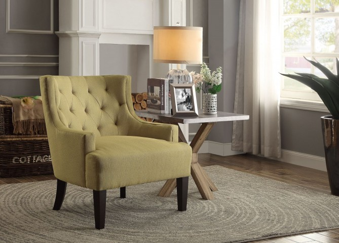 Dulce Mustard Accent Chair