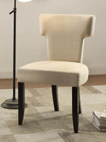 Alta Beige Fabric Accent Chair Set of 2