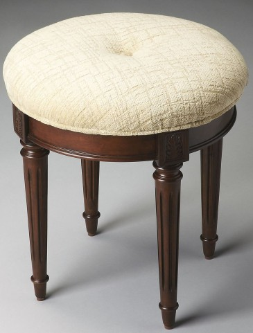 1250024 Plantation Cherry Vanity Stool