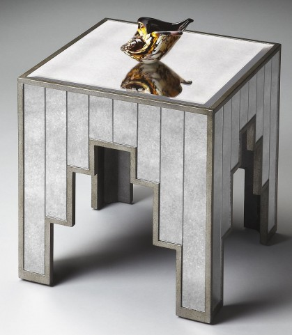 Loft Mirror Side Table