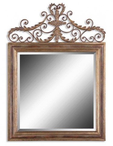 Valonia Antique Gold Mirror