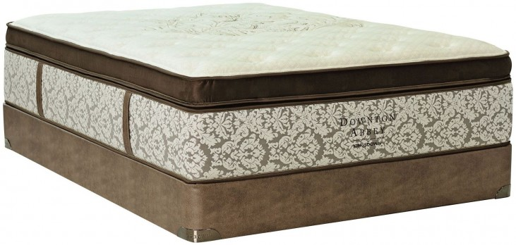 Downton Abbey Edwardian Lace VI Pillow Top Twin Long Mattress With Foundation