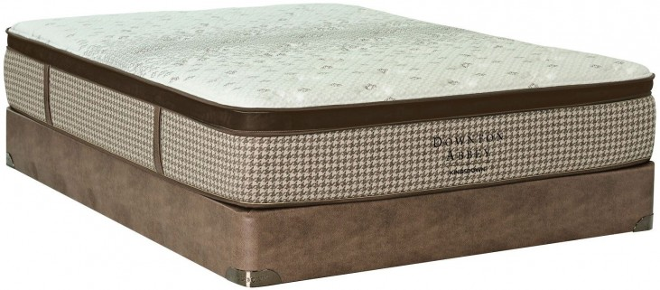 Downton Abbey Country Living VII Support Cal. King Mattress With Foundation