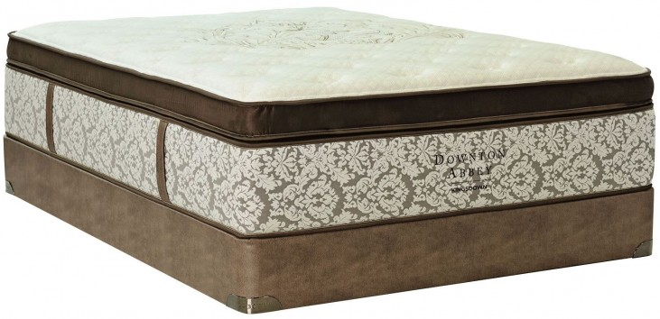 Downton Abbey Edwardian Lace VII Luxury Full Mattress With Foundation