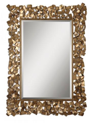 Capulin Antique Gold Mirror