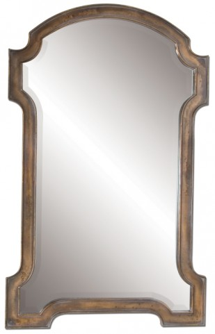 Corciano Oxidized Copper Mirror