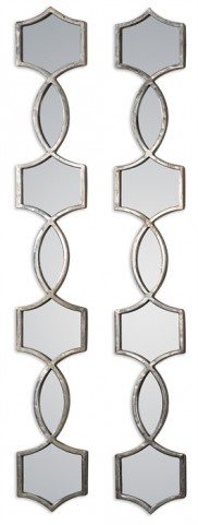 Vizela Metal Mirrors Set of 2
