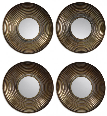 Tondela Round Mirrors Set of 4