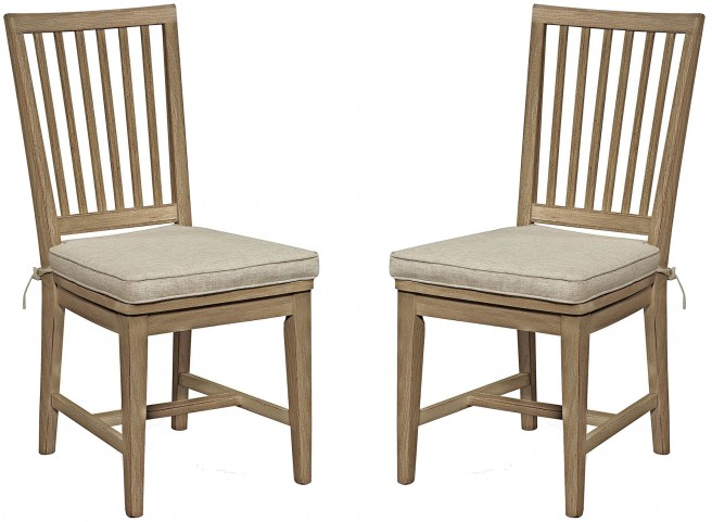 Great Rooms Terrace Gray Side Chair Set of 2