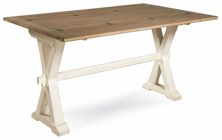 Great Rooms Drop Leaf Console Table