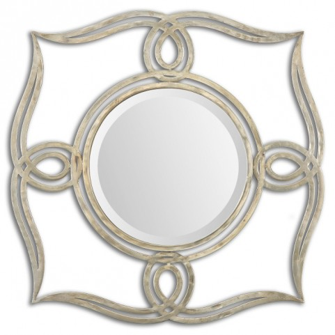 Helena Silver Mirror