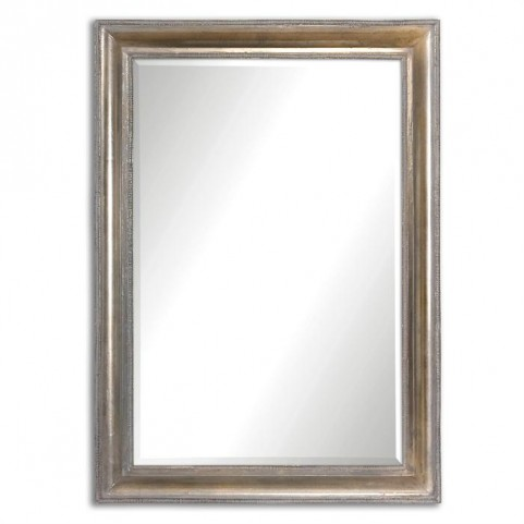 Avelina Oxidized Silver Mirror