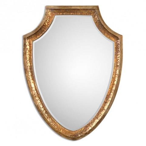 Lumarzo Antiqued Gold Mirror