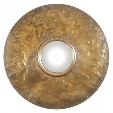 Nedonas Oxidized Gold Mirror