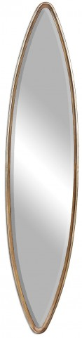 Belsito Oxidized Gold Oval Mirror