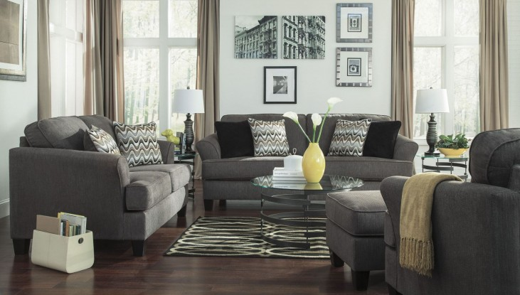 Gayler Steel Living Room Set