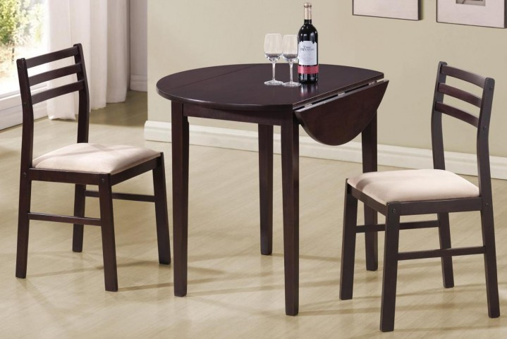 3 Pcs Round Dining Table Set 130005