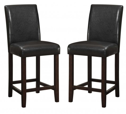 "Parson 24"" Counter Height Bar Stool Set of 2"