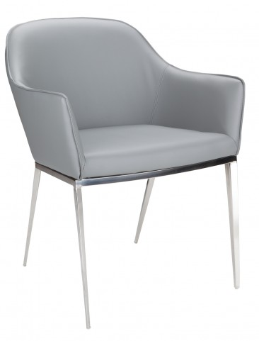Stanis Grey Armchair