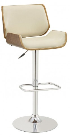 Reck Room Adjustable Ecru Bar Stool