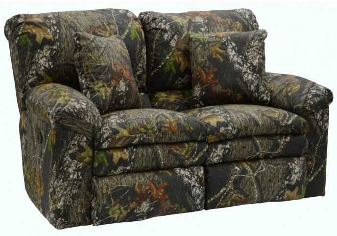Trapper Mossy Oak New Breakup Reclining Loveseat