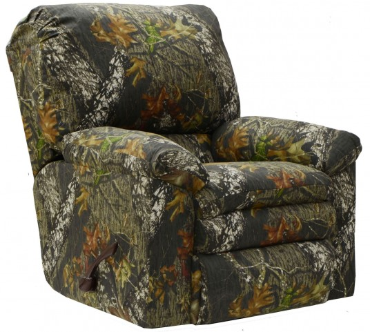 Trapper Mossy Oak New Breakup Rocker Recliner
