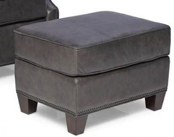 Anderson Gunner Saddle Leather Ottoman