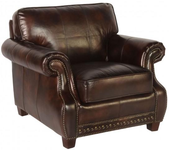 Anna Toberlone Leather Chair