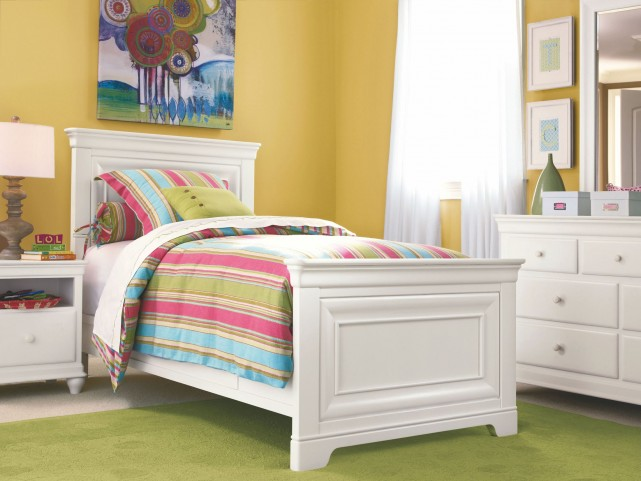 Classics 4.0 Smartstuff White Youth Panel Bedroom Set