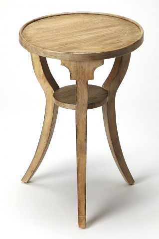 Masterpiece Dalton Driftwood Round Accent Table