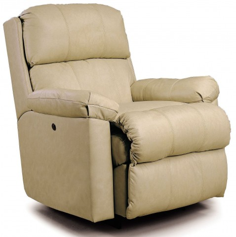 Timeless Beige Recliner