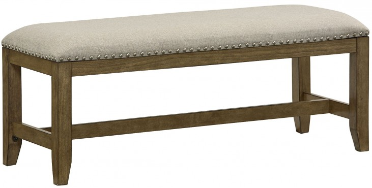 Riverton Backless Upholstered Bench