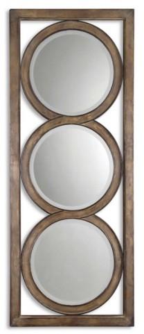 Isandro Metal Silver Mirror
