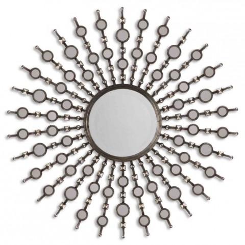 Kimani Silver Mirror