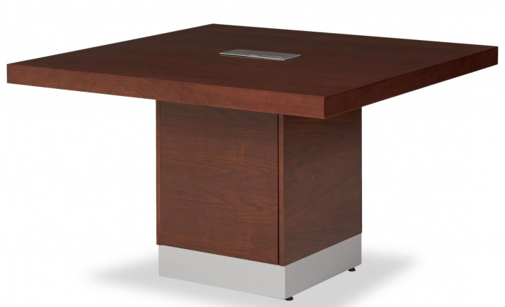 Incept Dark Almond Conference Table