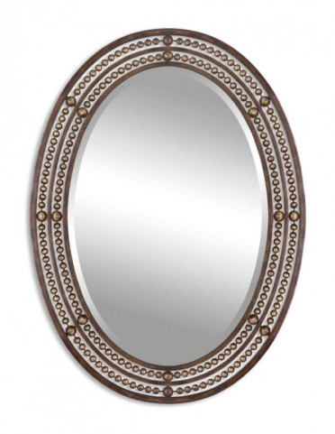 Matney Distressed Bronze Mirror