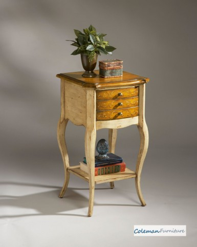 Pine n' Cream 1375166 Accent Table