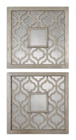 Sorbolo Squares Decorative Mirror Set of 2
