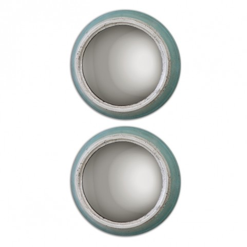 Fanchon Round Mirrors Set of 2