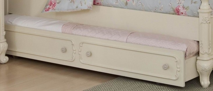 Cinderella Twin Trundle for Canopy Bed