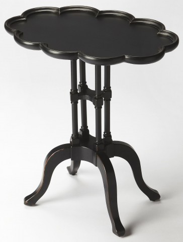 Lloyd Black Licorice Oval Accent Table