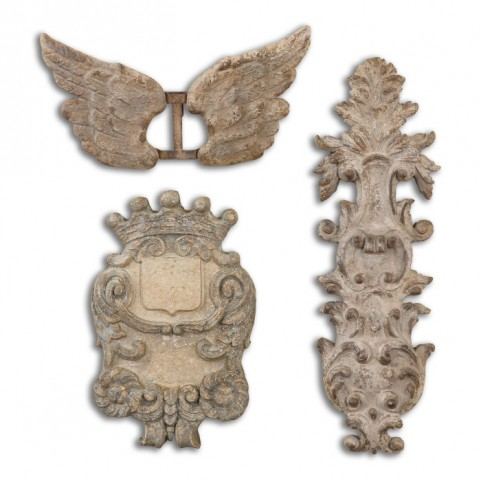 Rustic Artifacts Set of 3