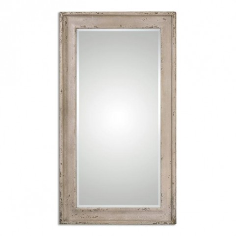 Alano Antiqued Leaner Mirror